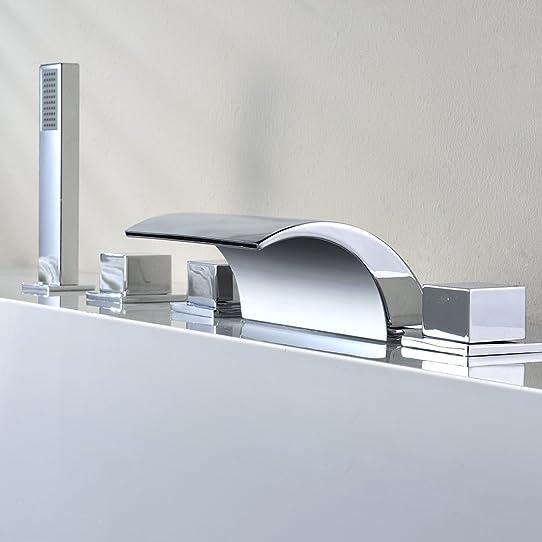 réduction pour prime day: kinse® design robinet de lavabo cascade ... - Robinetterie Baignoire Sur Gorge
