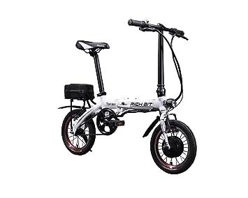 Rico Bit Top 014 – Bicicleta eléctrica plegable ebike bicicleta Ciclismo 250 W * 36 V