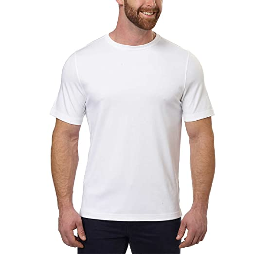 4f0c98170b80 Image Unavailable. Image not available for. Color: Kirkland Signature Men's  100% Cotton Classic Fit Tee ...