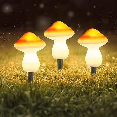lzndeal Lampes /à piquets Eclairage Jardin Solaire de pelouse de Papillon Allume Le d/écoratif imperm/éable pour Le Jardin ext/érieur Lampe Exterieur