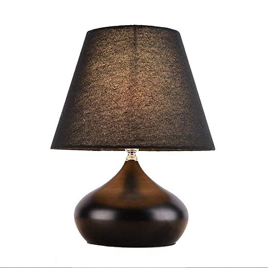 HTL Lámpara de mesa para el hogar, lámpara de cabecera ...