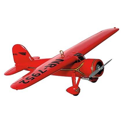 "Hallmark Keepsake Sky's the Limit #20 ""Lockheed Vega 5B"" Holiday  Ornament - Amazon.com: Hallmark Keepsake Sky's The Limit #20"