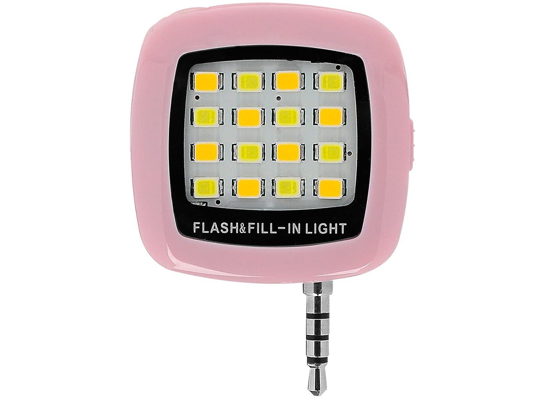 Amazon.com: Portable Mini 16 Leds LED Flash Fill Light Rechargeable ...
