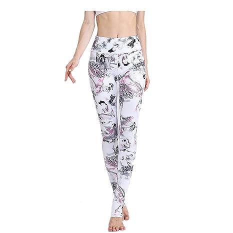 Zgsjbmh Pantalones de Yoga Pantalones de Yoga para Mujeres ...