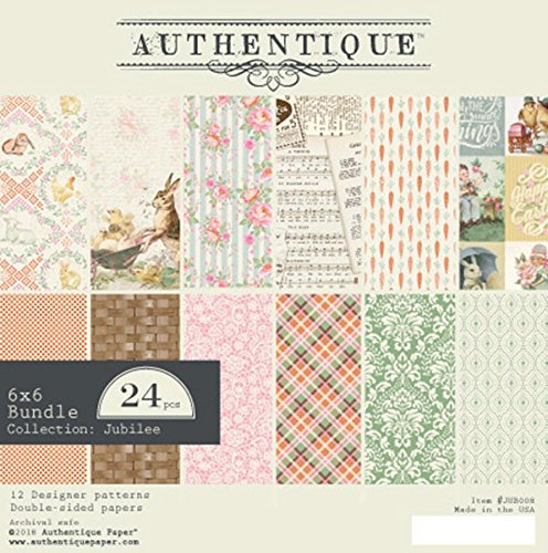 Authentique Jubilee 6x6 Paper Pad by  (Image #1)