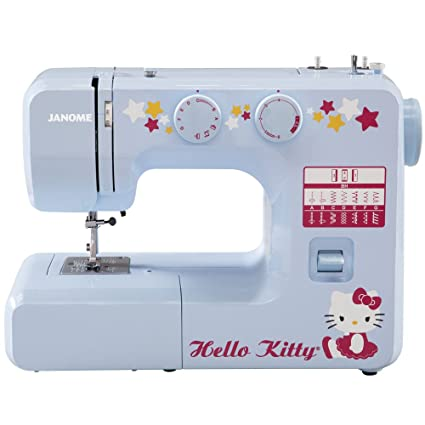 Amazon Janome 40 Hello Kitty EasytoUse Sewing Machine With Unique What Is The Easiest Sewing Machine To Use