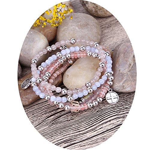 Beaded Glass Jewelry Set - 8