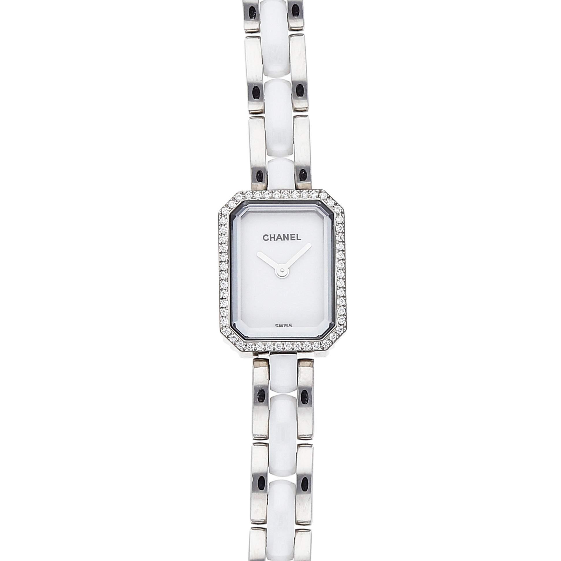 Chanel Premiere Quartz (Battery) White Dial Womens