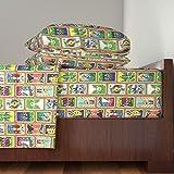 Roostery Tarot 3pc Sheet Set The Hallmark Tarot by Hannafate Twin Sheet Set made with