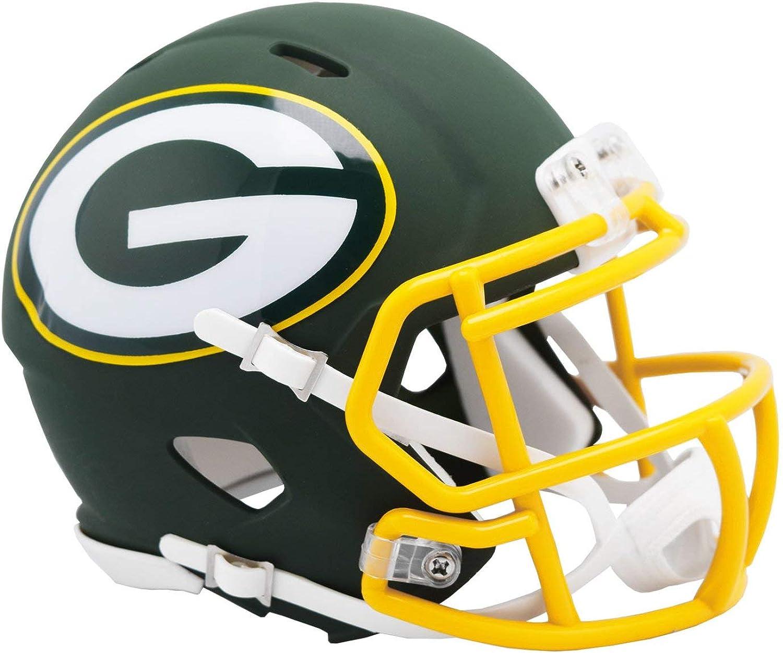 Amazon Com Nfl Green Bay Packers Mini Replica Helmet Clothing