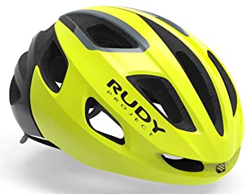 Rudy Project strym Bicicleta Casco - Yellow Fluo Shiny: Amazon.es ...