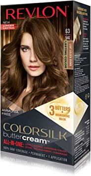 Revlon Luxurious Colorsilk Buttercream, Light Golden Brown, 1 unidad