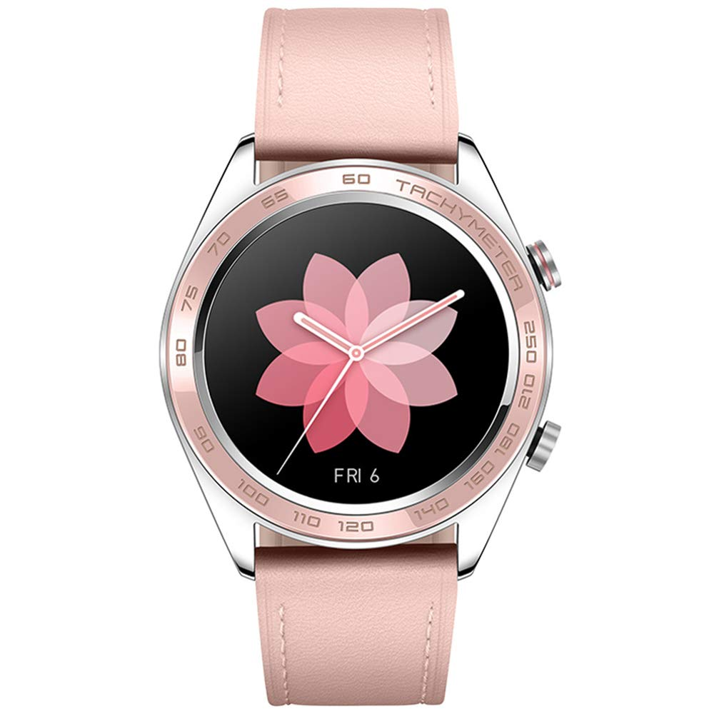 Honor Watch Dream Smart Watch AMOLED Color Screen 390390 PPI 326 GPS GLONASS BeiDou BT 4.2 Real-Time Heart Rate Pressure Sleep Management Multiple Sports Wristwatch for Android 4.4/ iOS 9.0 and Above