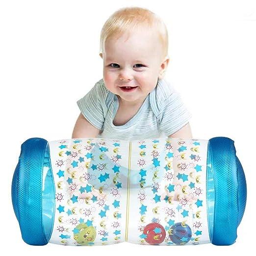 Volwco Baby Roller - Cilindro hinchable de actividades con Bola de ...