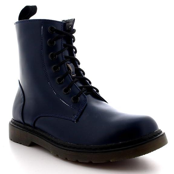 3 opinioni per Uomo Grosso Goth Punk Annata Combattere Pizzo Militare Caviglia Stivali