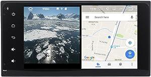 YongHang Android 7.1 Stereo 2 Din Unit for Toyota Corolla Prado RAV4 Hilux AVANZA Camry Terios land Cruiser 100 Radio Navi GPS Indash Radio Auto Auido Headunit WiFi Map Navigation