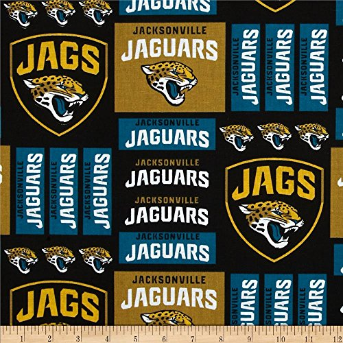 (lovemyfabric NFL Sports Teams Logo Print Stage Backdrop/Photography Backdrop/Photo Studio Background 5 Feet by 9 Feet (Jacksonville Jaguars))