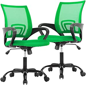 Ergonomic Office Chair Desk Chair Mesh Executive Computer Chair Lumbar Support for Women Men,2 Pack