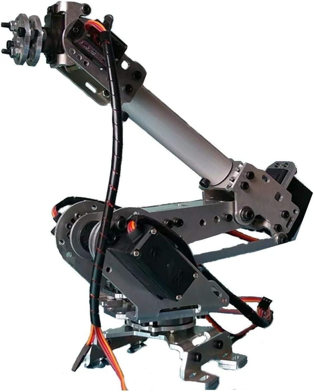 Jill Ernest Accesorios 6DOF Garra de Brazo de Robot mecánico ...