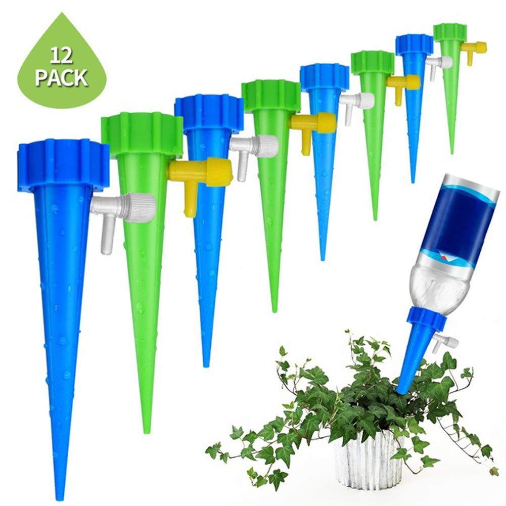ZITOOP 2019 Plant Water Funnel-Best Outdoors Watering Tool 12pcs