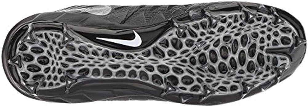 Nike Men\'s Alpha Menace Pro Mid Football Cleat Black/Metallic Silver Size 10 M US 611CNjmsa3LUL1001_