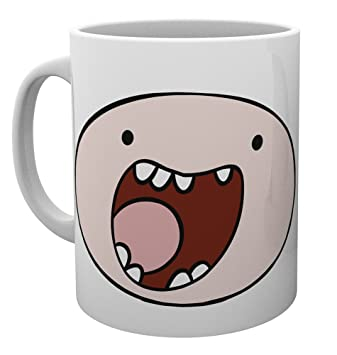 Amazon.com: GB eye Adventure Time, Finn Cara, taza, varios ...