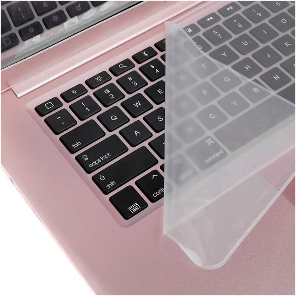 Anti dust Waterproof Keyboard Cover Universal Soft Silicone Protector Film Replacement for MacBook Laptop Notebook-15inch