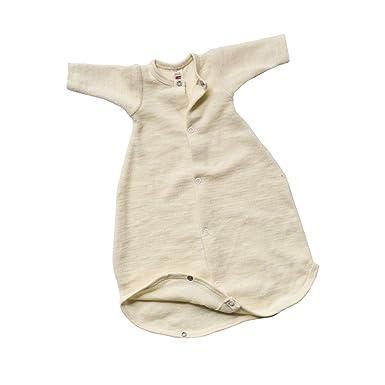0577b8c9d20de2 Engel Naturtextilien Frühchen Kleidung - Bio   Öko Baby Schlafsack  Schurwoll Frottee Gr. 50 cm