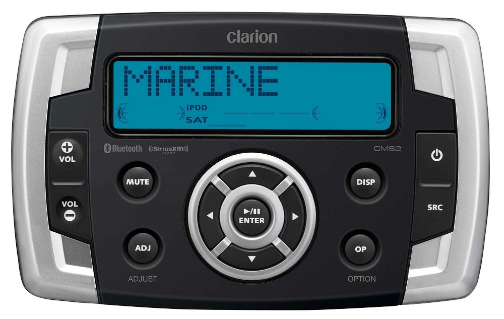Clarion CMS2 Marine Digital Media Hub with USB Port by Clarion