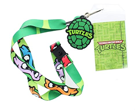Teenage Mutant Ninja Turtles Character Lanyard with Turtle ...