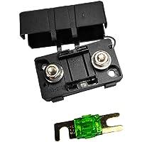 Sharplace Mini ANS Portafusible Fusebox y Fusible 80A