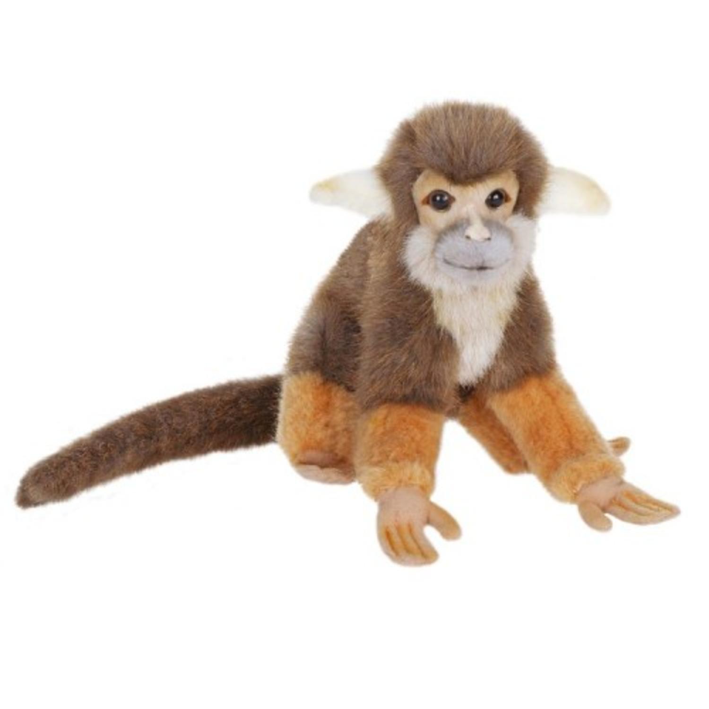 Amazon Com Set Of 4 Lifelike Handcrafted Extra Soft Plush Squirrel