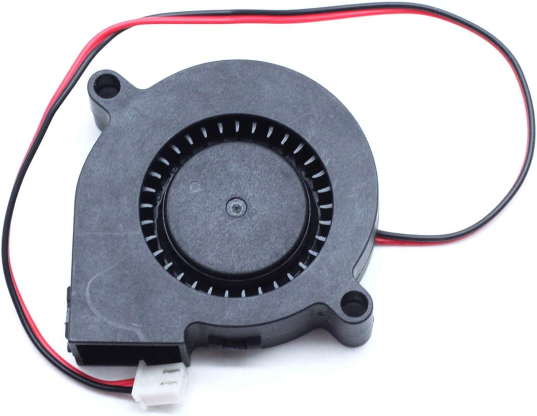 Dasunny Blower Fan 24V DC 50x50x15mm Brushless Cooling Fan for Computer 3D Printer Humidifier Aromatherapy Repair Replacement