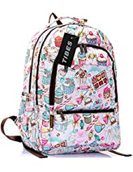 Tibes Lovely Style Backpack Cute Bags Funny Backpack for Kids Girls/Boys