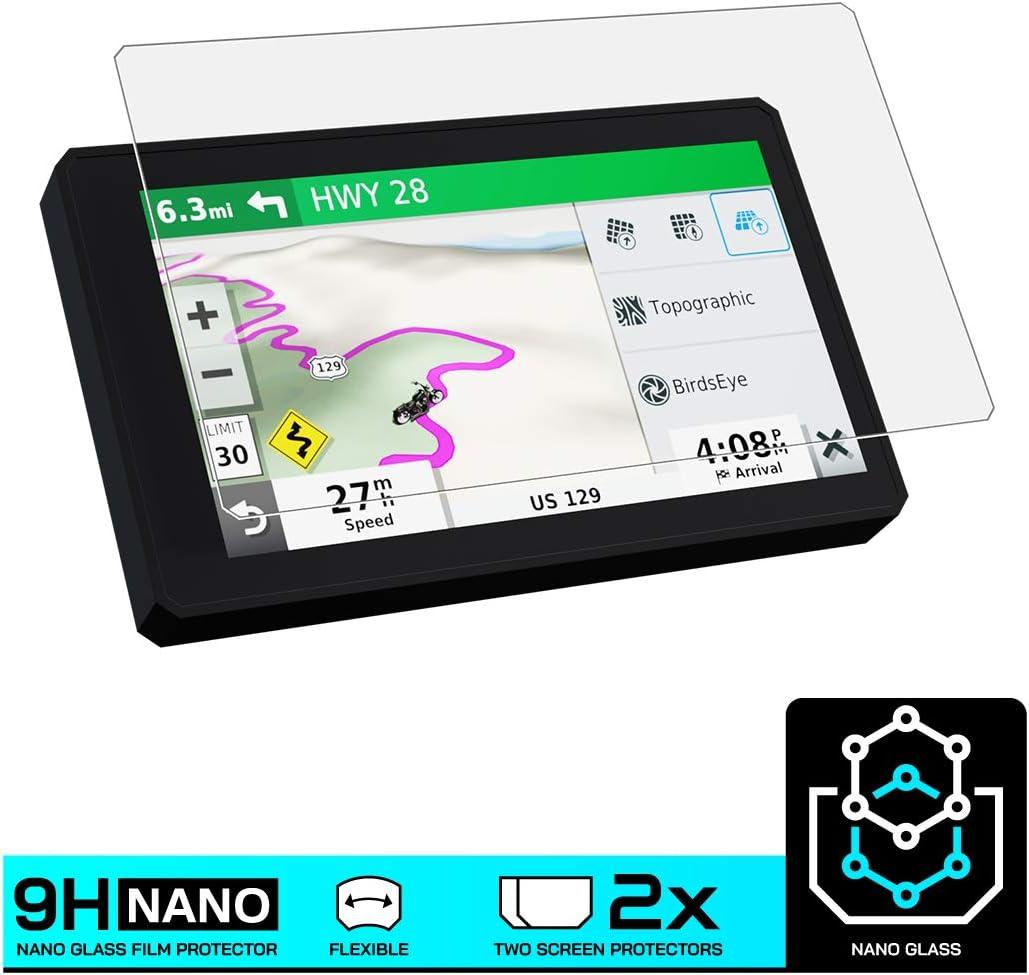 Speedo Angels NANO GLASS Screen Protector for GARMIN ZUMO XT x 2