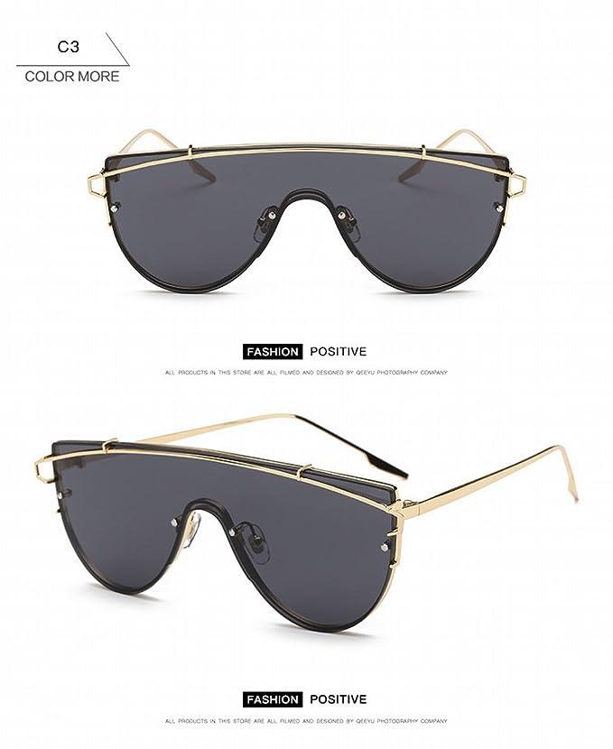 Mode Polarisierte Sonnenbrille Weibliche Retro Beliebte Sonnenbrille Anti - Ultraviolett Fahrspiegel Gold Rahmen Tee Linse QwbhbfSf