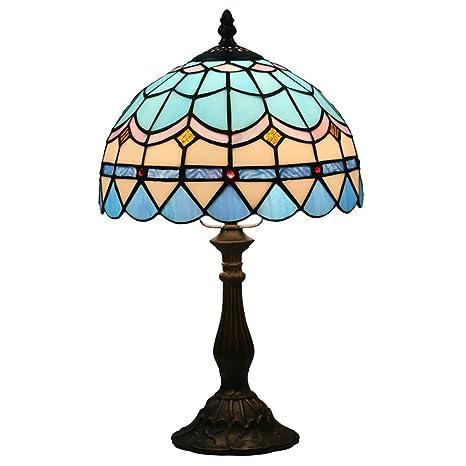 Lámpara Sala de Estar Estilo de Odziezet Lámpara Cabecera Lámpara de la Barra Mesa de Pulgadas de la de Escritorio Lámpara Tiffany 10 jpLMGVzqSU