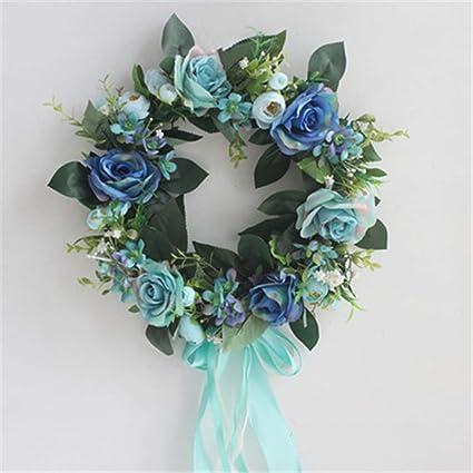 Amazon Com Lyfwl Diy Garden Rose Artificial Flower Garland