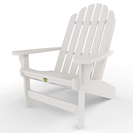 Magnificent Original Pawleys Island Dwac1Wh Durawood Essentials Adirondack Chair White Andrewgaddart Wooden Chair Designs For Living Room Andrewgaddartcom
