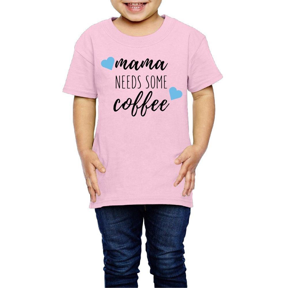 Mama Coffee Mug Cool Walk T Shirt Short Sleeve Red Yishuo Girls Mothers Day Gifts