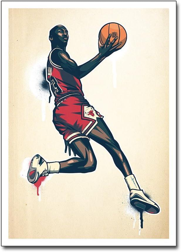 Póster con diseño de/Pantalla --- Michael Air Jordan --- Chicago ...
