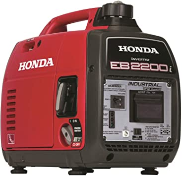 Honda EU2200i 2200W Portable Inverter Generator w Companion and Parallel Cables