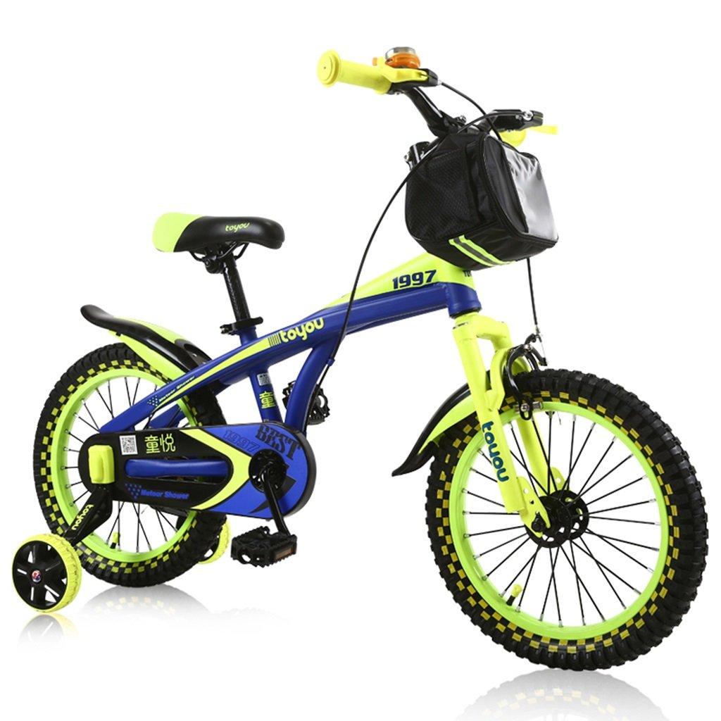 CSQ 男子生徒に適した子供用自転車補助車輪付きの市街地の布バスケット高炭素鋼の滑り止め技術3-9歳100-121CM 子供用自転車 (色 : C, サイズ さいず : 100CM) B07DXHVK3L 100CM|C C 100CM