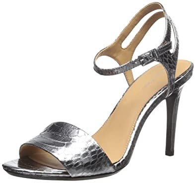 d0b507225cd Calvin Klein Women s Nadina Dress Sandal Steel 5.5 ...