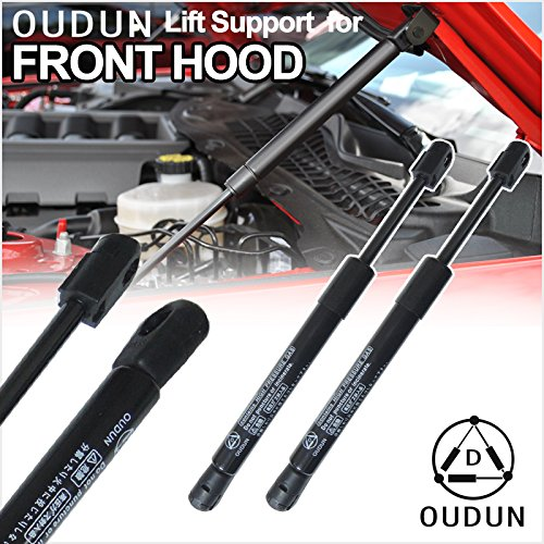 VioletLisa Brand New 2pcs Front Hood Bonnet Gas Lift Supports Strut Shocks Fit Ford 2001-2005 Explorer Sport Trac / 1991-2001 Explorer / 2002-2003 Explorer 2-Door & 1997-2001 Mercury Mountaineer