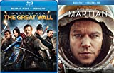 Great Martian Matt Damon double Feature Sci-Fi The Martian + Great Wall Action Movie Set