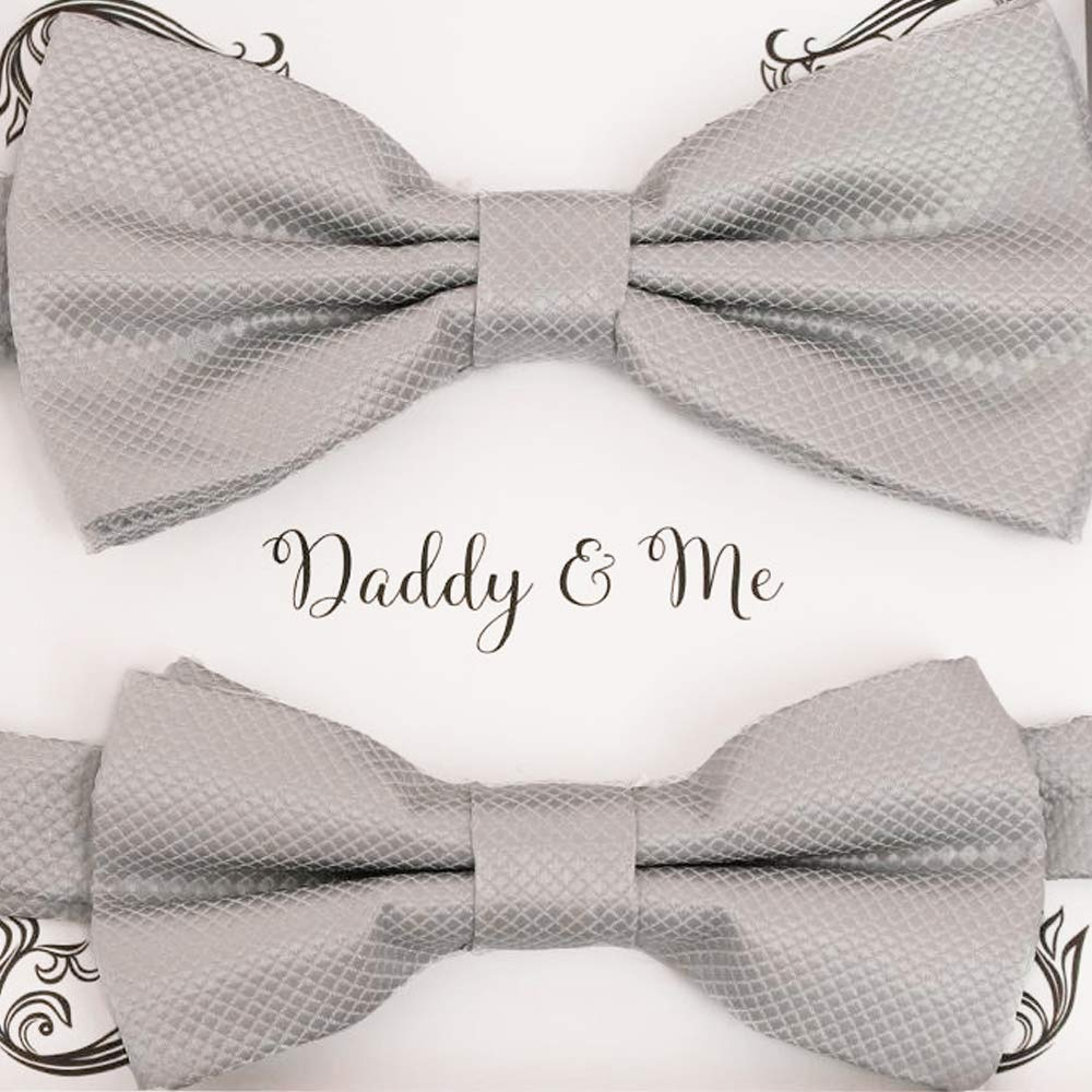 Fathers Day Gift for Dad Bowtie for Dog Collar Coordinating Bow Tie Set Dad and Me Bow Tie Men/'s Bow Tie Bow Tie for Wedding Party Gift