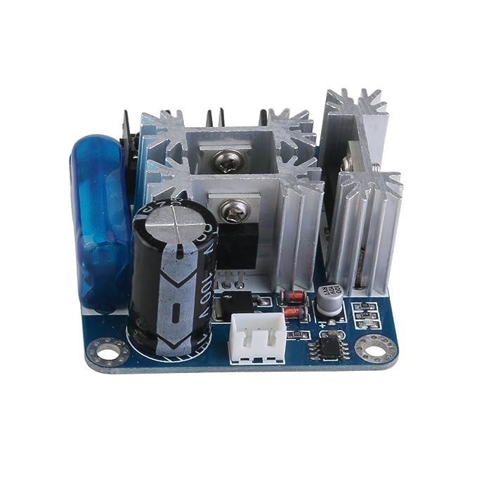 6V-90V 15 A pulse ancho PWM Motor DC velocidad controlador cambiar: Amazon.es: Hogar