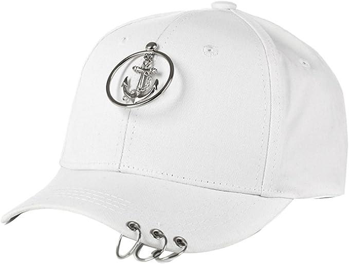 Belsen - Gorra de béisbol para Mujer, diseño Vintage Ancla Blanca ...