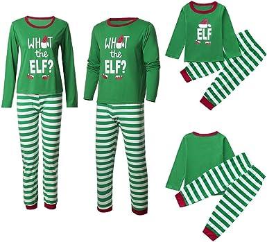 Toddler Boy/'s Green Christmas Holiday Elf Pajama Set